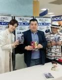 伊東潤先生のサイン会
